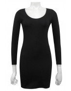 Miss Me - Kym Ponti Tunic dress with Long Sleeves