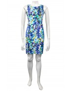 Four Girlz - Julie sateen dress with button tab detail
