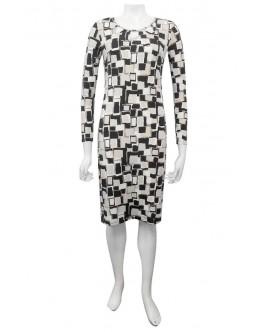 Four Girlz - Lola long sleeve dress with keyhole neck.