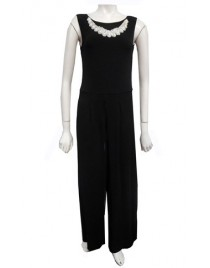 Sister Sister 11627 - Charlotte jumpsuit with neck piece