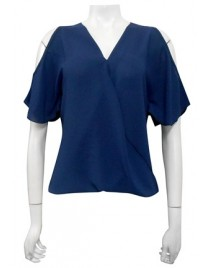 Four Girlz - Robyn cross front blouse.