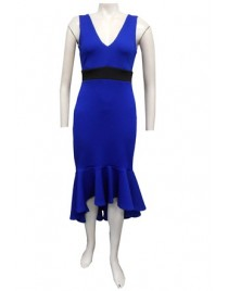 Sister Sister 11618 - Jacinta contrast band dress