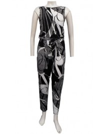 Four Girlz 11679 - Jodie printed jumpsuit