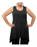 Room To Move - Soft Knit Peaked Tunic