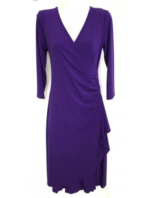 Four Girlz 9501 - Soft Knit Wrap Dress