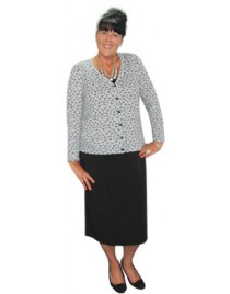 Room To Move - Mary jacquard tunic.