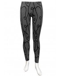 Miss Me - Holly printed tights.