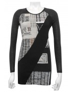 Four Girlz - Cheri contrast tunic.